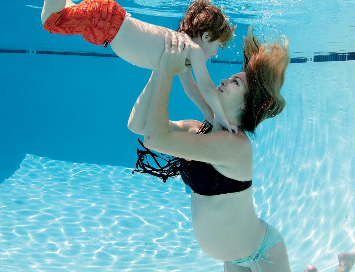 A common question from female divers is whether they can keep diving whilst pregnant or dive during pregnancy