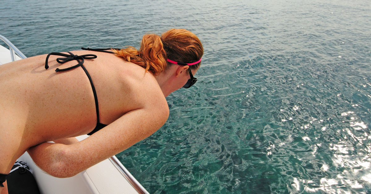 Sea sickness or motion sickness - how to stop it ruining your dive trip