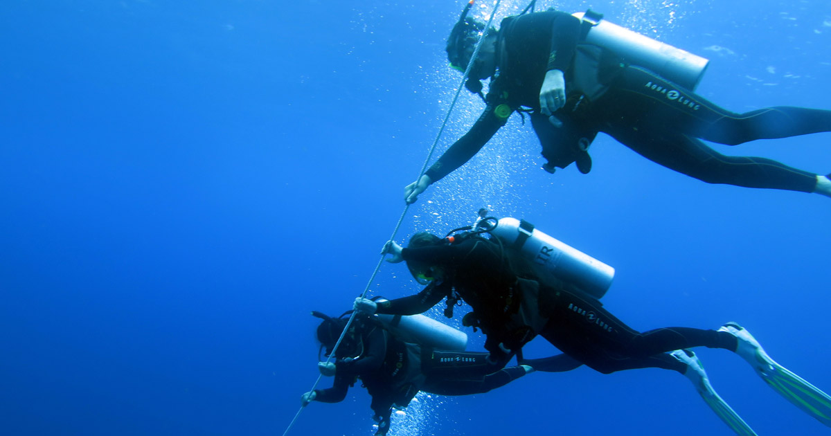 Here are some strategies that divers can use to try to minimise the risks of DCI - Decompression Illness