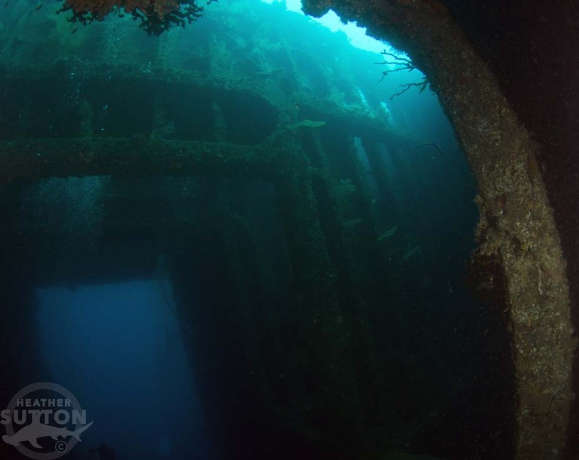 Cargo Hold SS Coolidge Vanuatu credit Heather Sutton